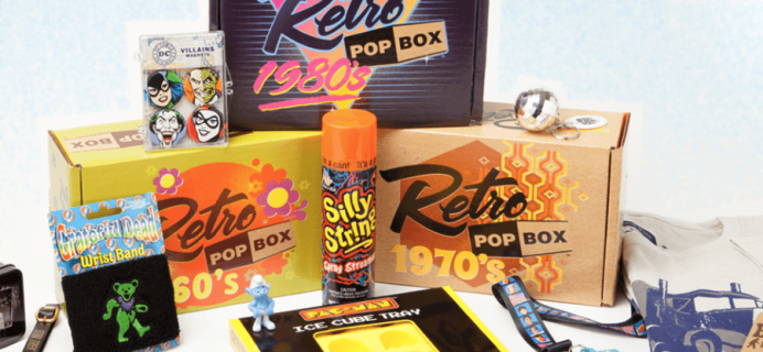 Retro Pop Box Cyber Monday Coupon: Save 20% On First Box!