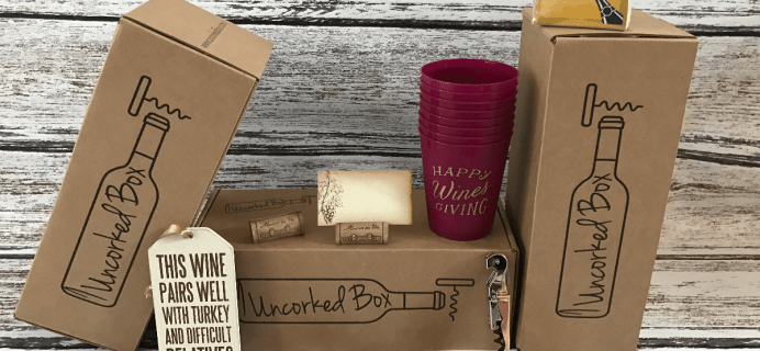 Uncorked Box Black Friday Coupon: 20% Off Subscriptions!