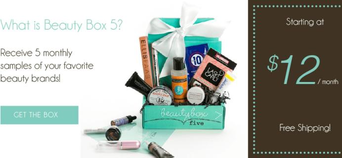 Beauty Box 5 Black Friday Deal – Free Eyeshadow & Eyeliner Set