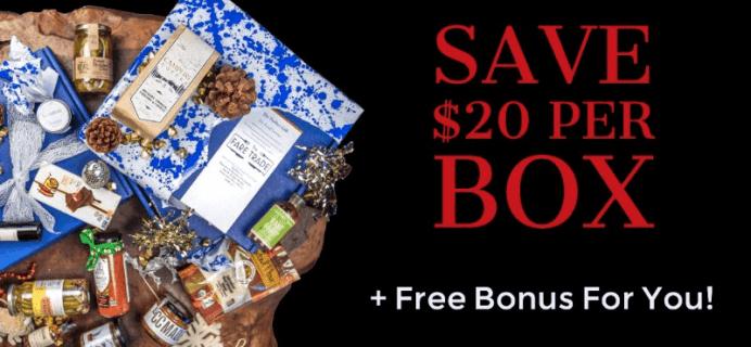 The Fare Trade Black Friday Deal: $20 Off Per Box + Free Bonus Item!