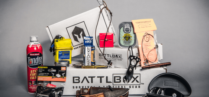 BattlBox Cyber Monday 2018 Coupon: Save 20% off New Subscription Plans!