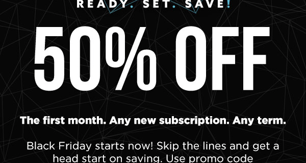 Nerd Block Black Friday Coupon: 50% Off First Month of ANY Subscription!