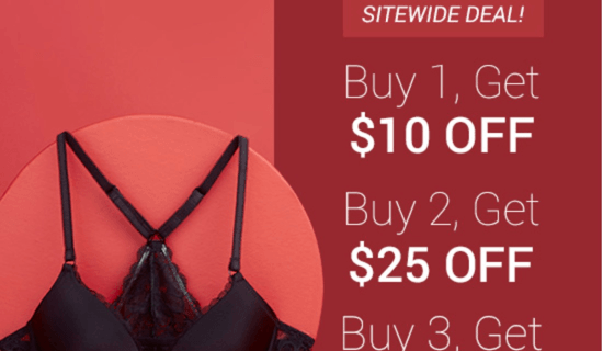 Adore Me Black Friday Deals – Save Up To $40 + BOGO Sale + First Outfit $14.95!