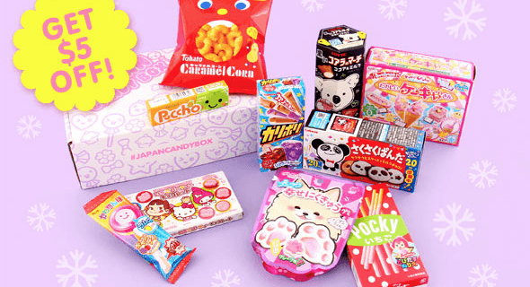 Japan Candy Box Cyber Monday Coupon –  Save $5! {RARE} + FREE Meltykiss!