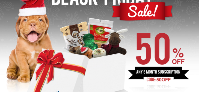 Pooch Perks Black Friday Sale: Save 50% Off 6 Month Subscriptions!