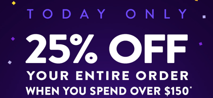 MeUndies Black Friday Coupon: 25% Off $150 OR 25% Subscription!