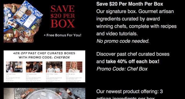 The Fare Trade Black Friday Deal: $20 Off Per Box + Save in Shop!