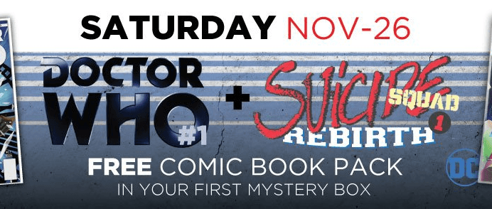 Geek Fuel Geek Week Deal: Free Comic Book Pack