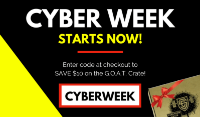 Strength Crate Cyber Monday Deal: Save $10!