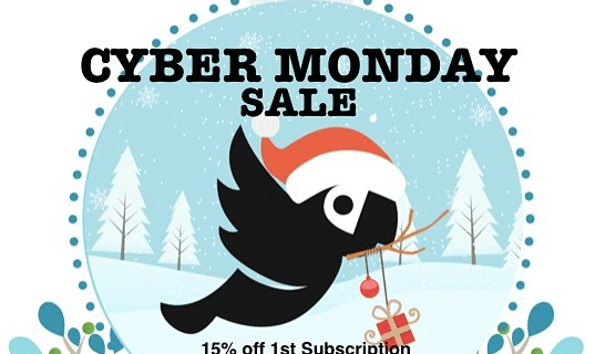 Squawk Box Cyber Monday Deal: 15% Off Subscriptions!