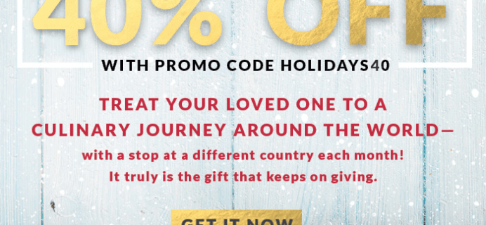Try the World Cyber Monday Sale: Two FREE Boxes & 40% Off Gifts!