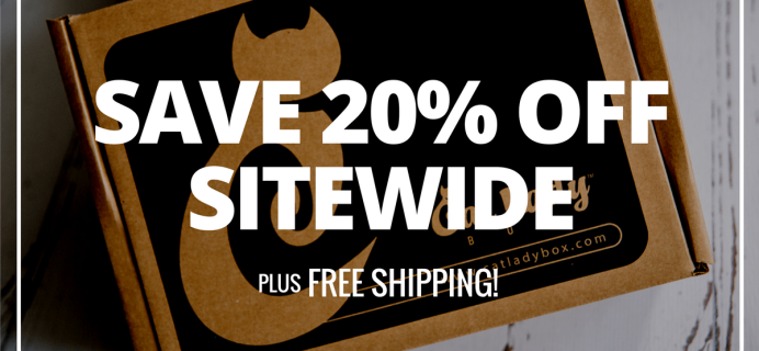 Cat Lady Box Cyber Monday Deals – 20% Off All Subscriptions!