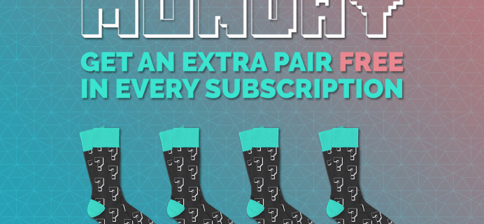 Sock Fancy Cyber Monday Deal: Extra Pair Free in Every Subscription!