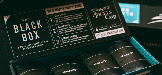 Angels' Cup 2016 Gesha Holiday Black Box Available Now!