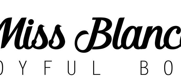 Miss Blanco Joyful Box Cyber Monday Coupon! {Canada}