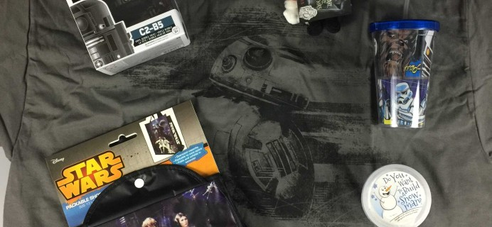 Powered Geek Box December 2016 Subscription Box Review + Coupon