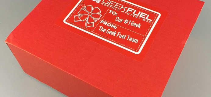 Geek Fuel December 2016 Subscription Box Review + Coupon!