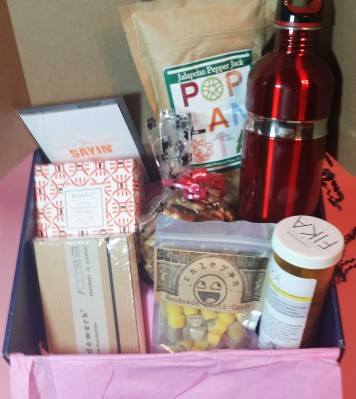 The College Crate Subscription Box Review – November 2016