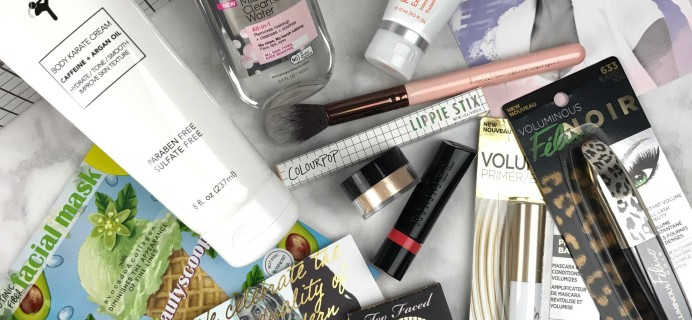 Beautycon Box Winter 2016 Subscription Box Review + Coupon
