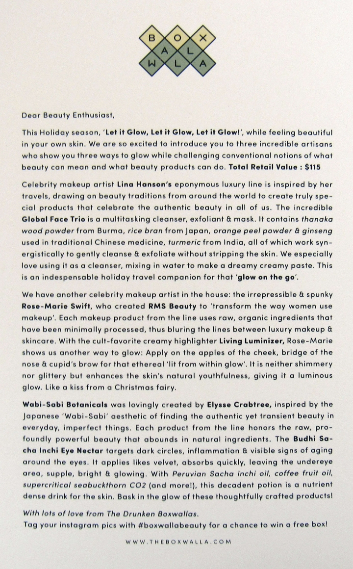 Curator Letter