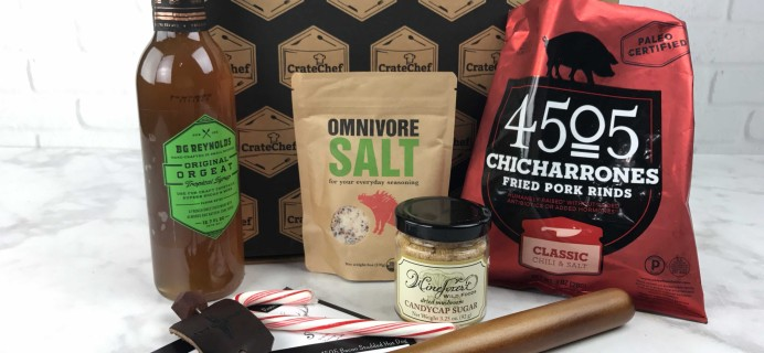Crate Chef December 2016 Subscription Box Review + Coupon!