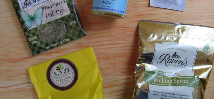 Herbal Bliss Subscription Box Review – November 2016