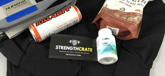 Strength Crate Subscription Box Review + Coupon – November 2016