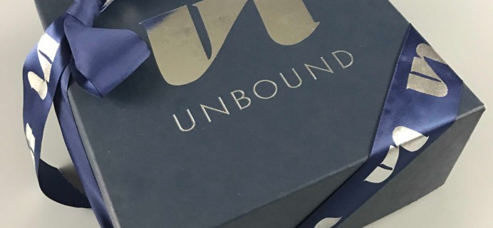 Unbound December 2016 Subscription Box Review + Coupon {Adult}