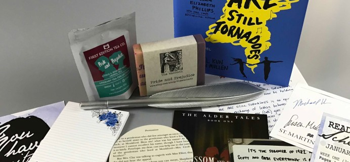 Book Boyfriend Box December 2016 Subscription Box Review + Coupon