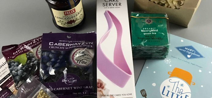 Mary's Secret Ingredients Subscription Box Review & Coupon – Winter 2016