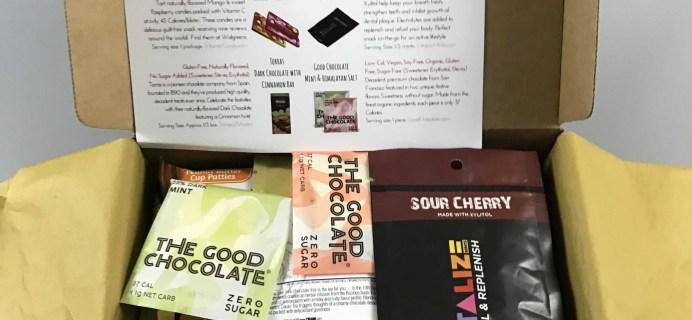 Sleek Treat December 2016 Sugar Free Subscription Box Review