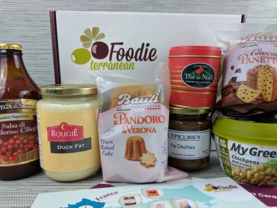 Foodieterranean Subscription Box Review – December 2016