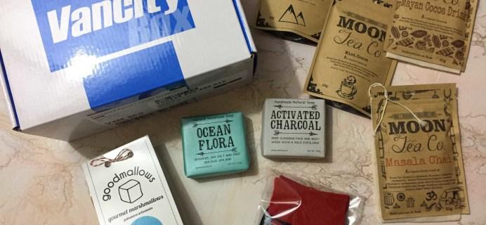Vancity Box December 2016 Subscription Box Review + Coupon