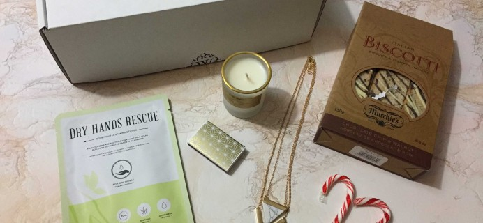 White Willow Box December 2016 Subscription Box Review