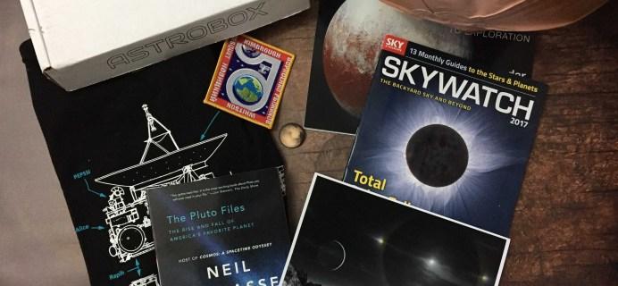 AstroBox Winter 2016 Subscription Box Review