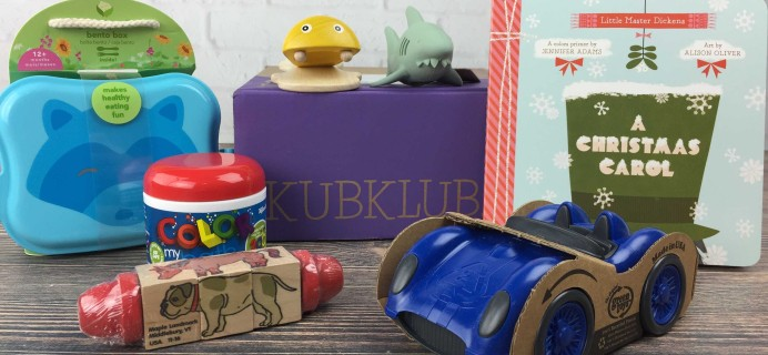 Kub Klub December 2016 Subscription Box Review