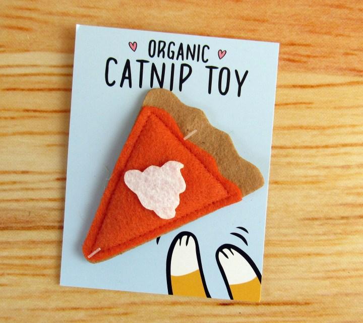 Pumpkin Pie Catnip Toy