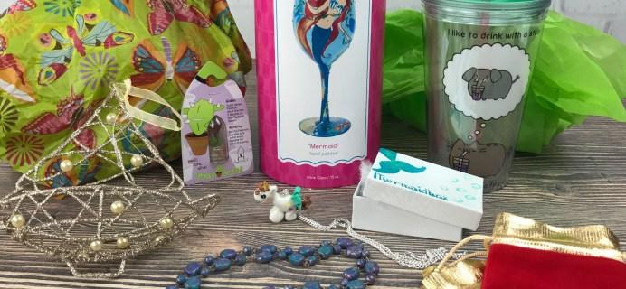 Mermaidbox Limited Edition Holiday Box Review – December 2016