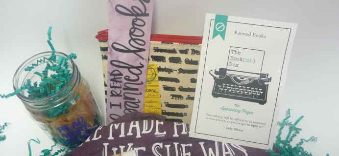 The Bookish Box November 2016 Subscription Box Review + Coupon