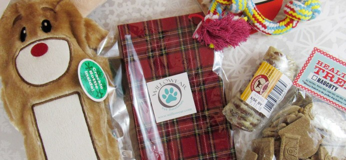 PawPals With Annie! December 2016 Subscription Box Review + Coupon