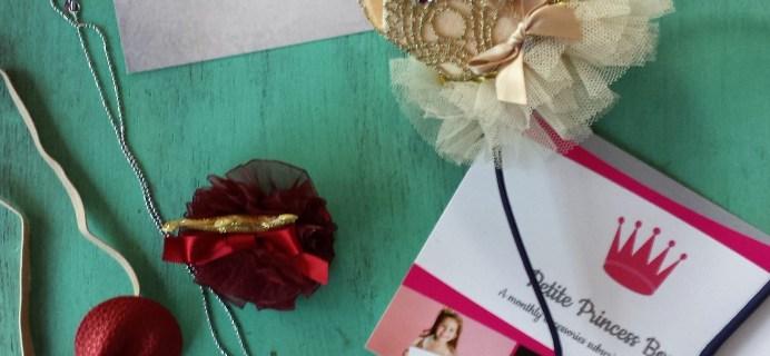 Petite Princess Subscription Box Review December 2016 + Coupon