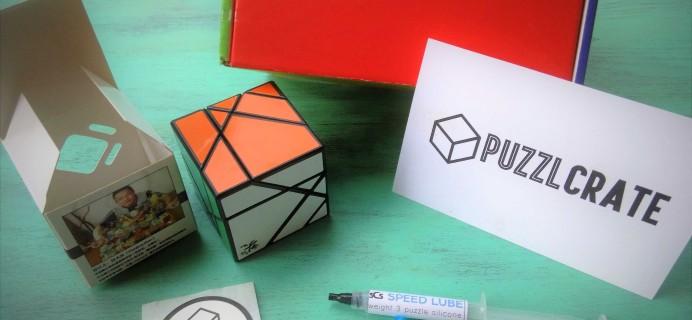 Puzzlcrate November 2016 Subscription Box Review
