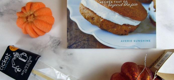 The Pumpkin Batch December 2016 Subscription Box Review