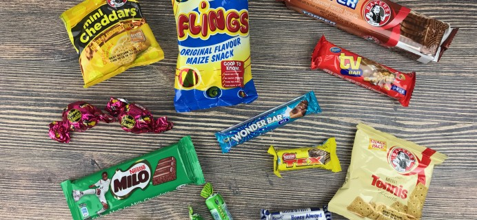 Treats Box December 2016 Review & Coupon – SOUTH AFRICA!