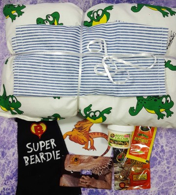 Bearded Dragon Box December 2016 Subscription Box Review + Coupon
