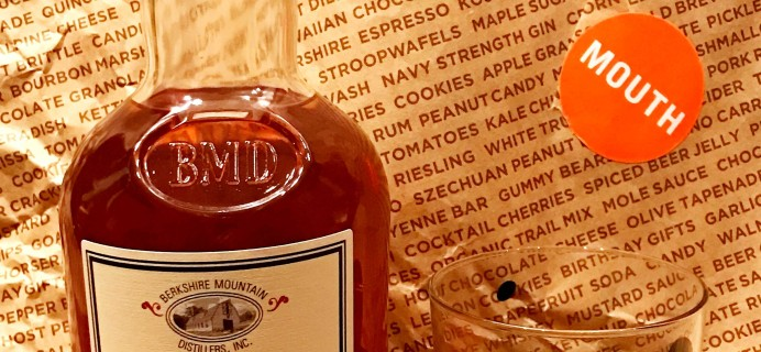 Mouth: Bourbon Every Month December 2016 Subscription Box Review + Coupon