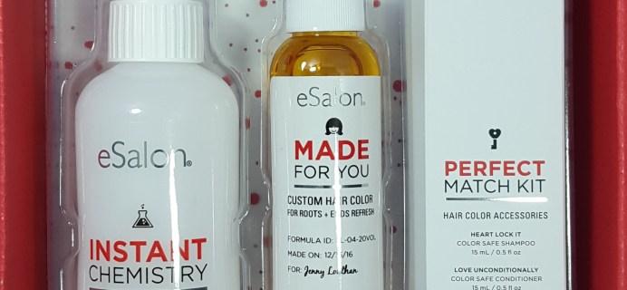 December 2016 eSalon Custom Hair Color Subscription Review + Coupon