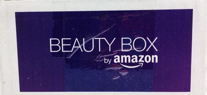 Amazon Beauty Box November 2016 Review