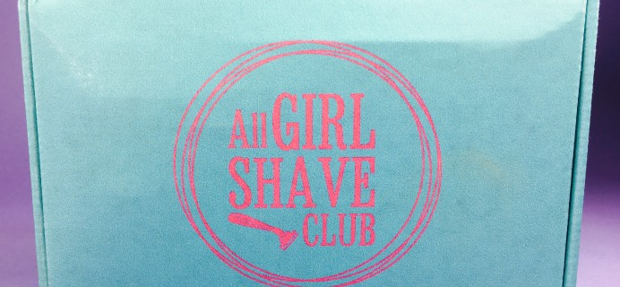 All Girl Shave Club 2016 Pre-Launch Subscription Box Review