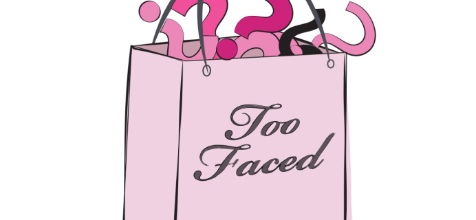 Too Faced Cyber Monday 2016 Mystery Bag Full Spoilers!